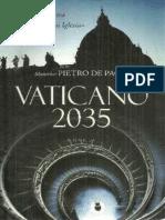 Paoli Pietro de - Vaticano 2035