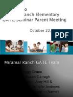 gate meeting fall 2015