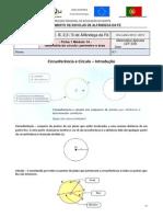 O Círculo-perímetro e Área