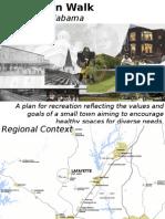 Grayson Parker's Hometown Walk Presentation
