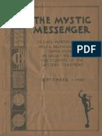 The Mystic Messenger, September 1935