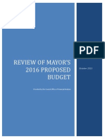 FY 16 Analysis of Introduced Budget 102115