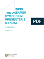 V-3 Manual White Cover