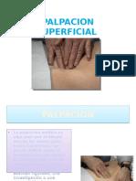 Palpacion Superficial