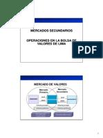 5 - Mecanismos Centralizados de Negociación - Operaciones