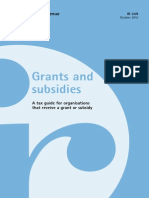 Grants and Subsidies