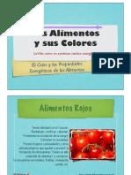 Alimentos y Sus Colores
