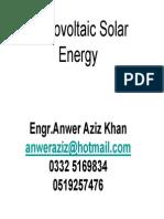 Photovoltaic Solar Energy 2