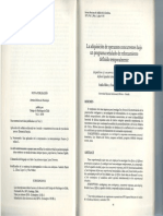 La Adquisicion de Operantes Concurrentes Bajo Un Programa Senalado de Reforzamiento Definido Temporalmente