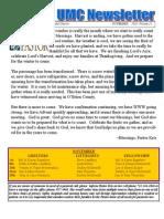 Archer UMC November Newsletter
