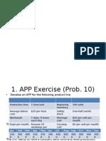 MRP Exercise