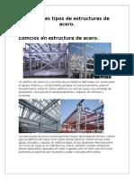 Diferentes Tipos de Estructuras de Acero