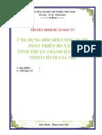 Lap Du an Chan Nuoi Phat Trien Bo Vang