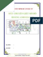 Lap Du an Day Chuyen Giet Mo Bo Hoang Anh Gia Lai