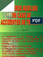 Primeros Auxilios en Accidentes de Transito