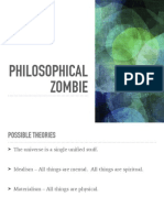 philo 101 philosophical zombie