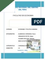 Activos de La Comunidad Campesina de Huarisca