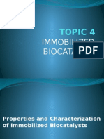 TOPIC 4_part 2 Properties and Characterization of Immobilized Biocatalysts_student Copy