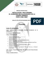 ProgramaoficialSimposio GobiernoRevFFAA