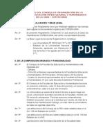 Reglamento Del Consejo de Organización de La Facultad de Educación Intercultural y Humanidades de La Unia