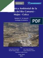 Geoquímica Ambiental de La Cuenca Del Río Camaná – Majes - Colca%2C 2011