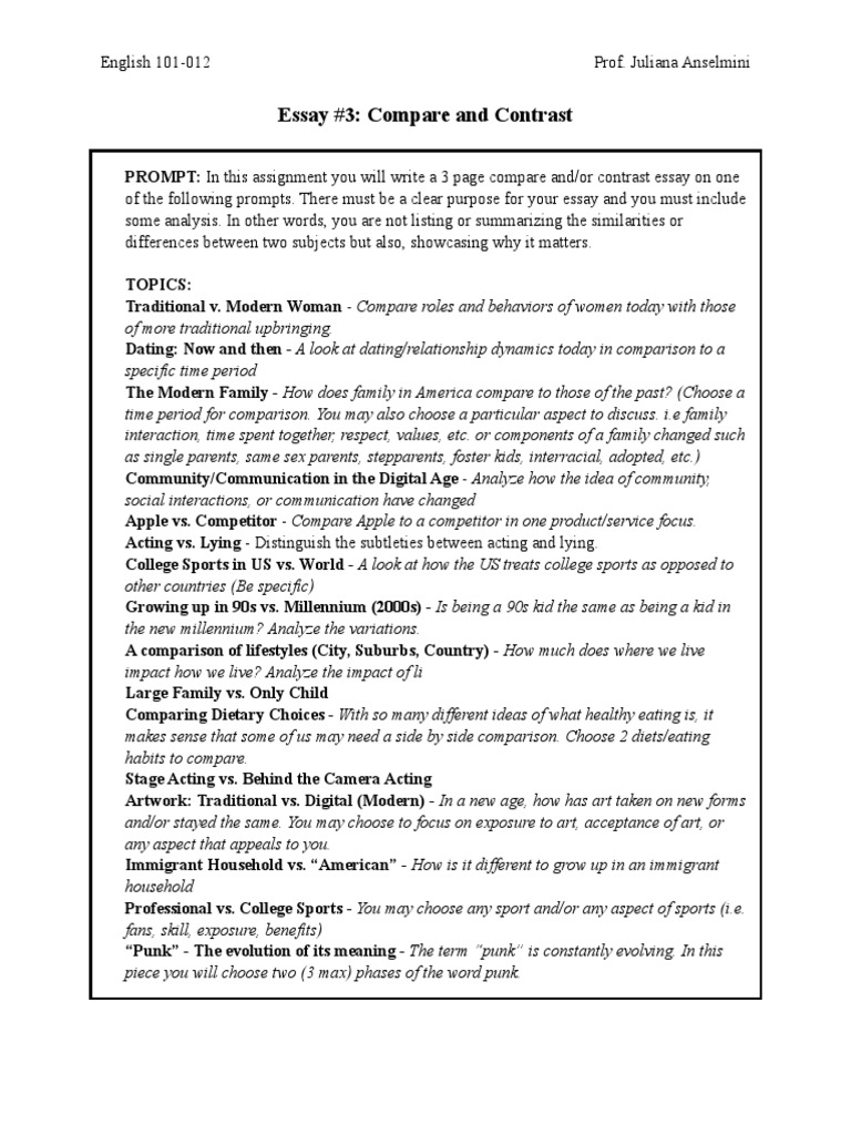 Thesis writing handout