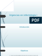 Urgencias en Infectología