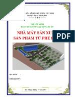 Lap Du an Nha May San Xuat San Pham Tu Phe Lieu