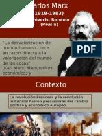 Carlos Marx. Síntesis Biográfica.