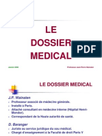 Le Dossier Medical Version 2009 2