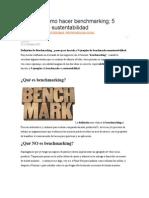 Qué Es y Cómo Hacer Benchmarking