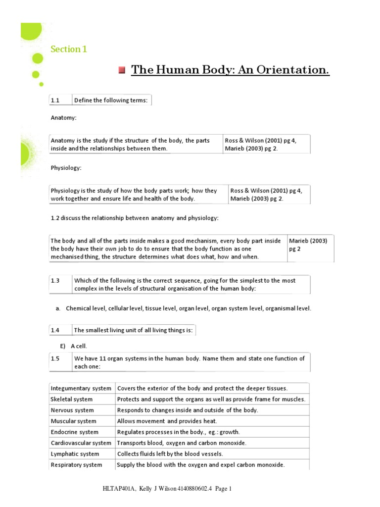 Human Anatomy and Physiology for Nurses   Anatomical Terms Of Motion ...