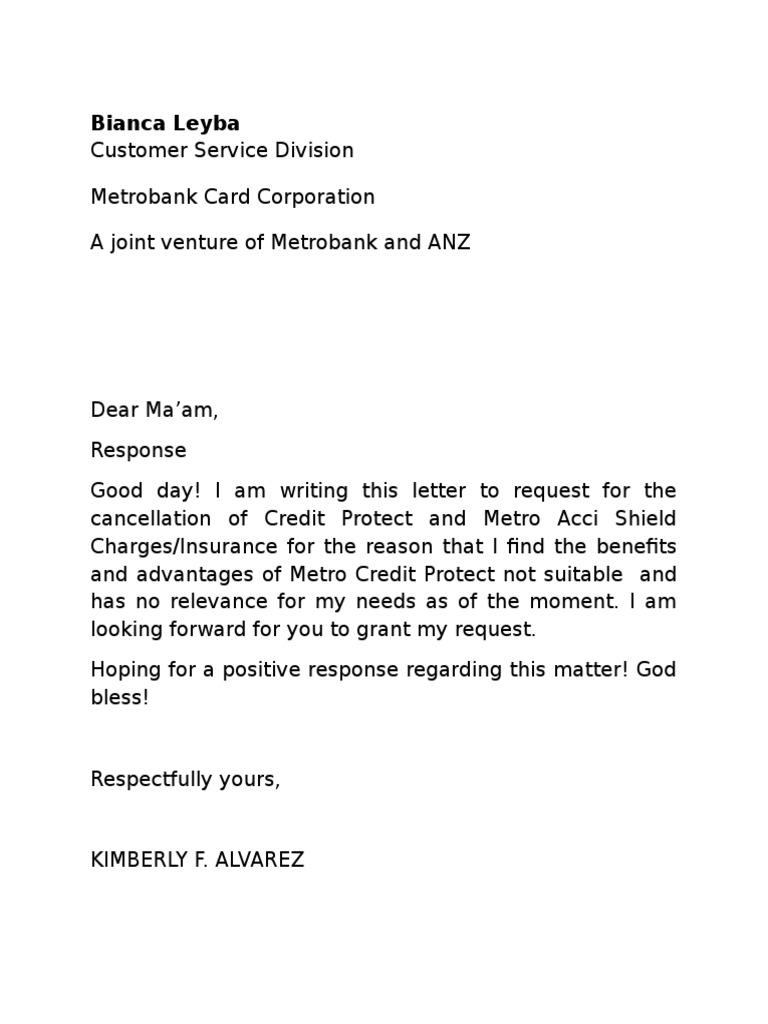 Letter of cancellation spiritdancerdesigns Gallery