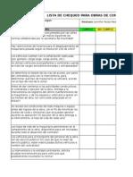 Lista Chequeo Maquinaria Pesada (editable)