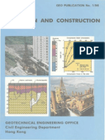 Pile Design and Construction - GEO Publication No1/96 - Hongkong
