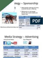Media Strategy -- Sponsorship