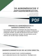 Adrenergicos