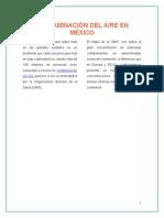 Contaminación Del Aire en México
