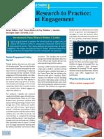 Bedell Student Engagement (Magazine)