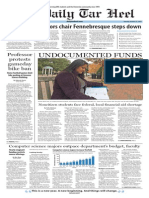 The Daily Tar Heel for Oct. 27, 2015