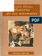 Eliano-Historia de Los Animales