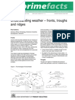 Understanding Weather Fronts Troughs and Ridges