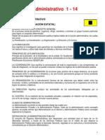 4Derecho Administrativo  1 al 14.pdf
