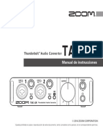 Zoom TAC-2R Manual de Instrucciones