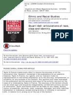 Articulacion de Raza, Clase e Identidad_Stuart Hall