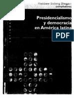 Mainwaring Presidencialismo y Democracia