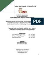tesis de lenguas