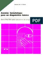 Anemia Hematologia Para Un Diagnostico Basico