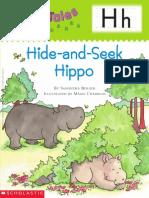 Hide and Seek Hippo
