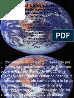 Cambio Climatico 2007